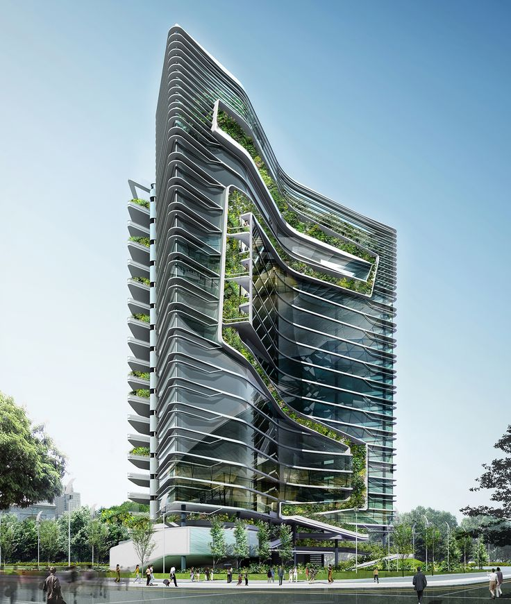 Spire Edge Manesar | T. R. Hamzah & Yeang Sdn. Bhd. | Ecoarchitecture | Ecomasterplanners | Green Design | Ecoinfrastructure| Eco master planning and Eco architecture Malaysia