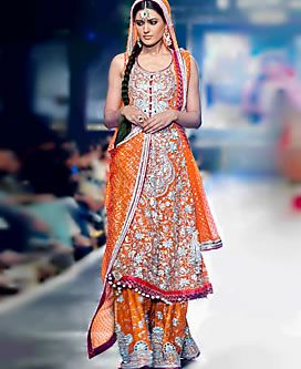 D3946 South Asian Bridal Wear Trends South London, Designer South Asian Wedding Dresses Ilford Southall Bridal Wear