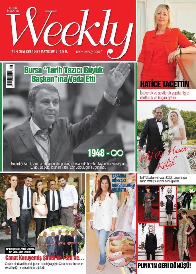 Weekly Dergisi, 15 - 21 Mayıs sayısı yayında! Hemen okumak için: http://www.dijimecmua.com/weekly/