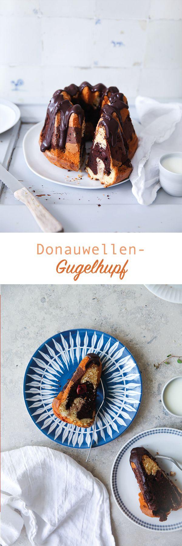Donauwellen Gugelhupf / Kirschkuchen /Marmorkuchen / Marmorkuchen Gugelhupf / marble bundt cake / www.zuckerzimtundliebe.de / cherry cake