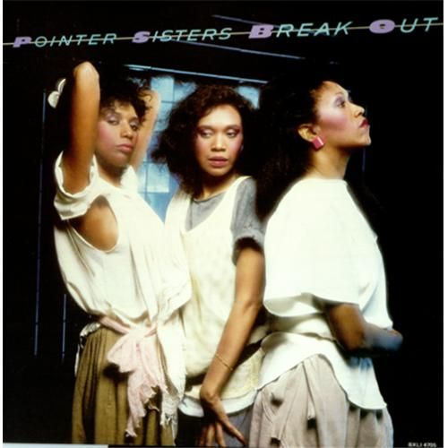 The Pointer Sisters Break Out 1983 Super Soul Album