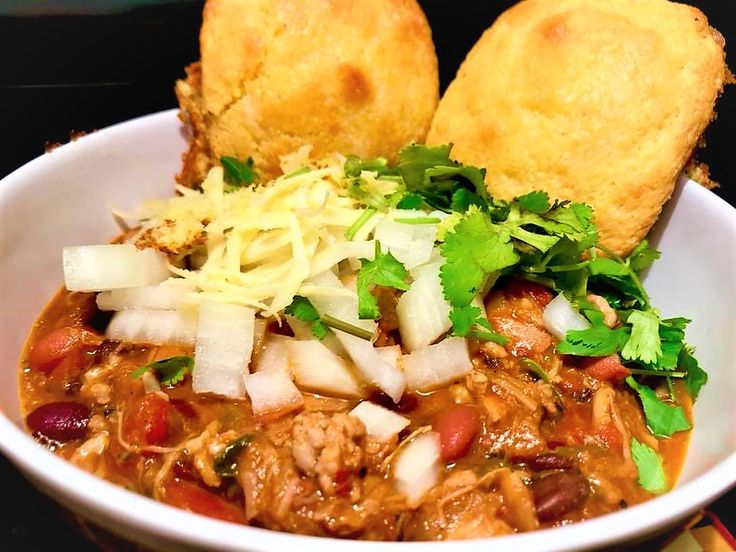 Chef Perry's 3-Meat Chili ~ Check it out!