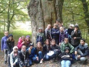 Klasa VI d z gdańskiej Szkoły Podstawowej nr 42