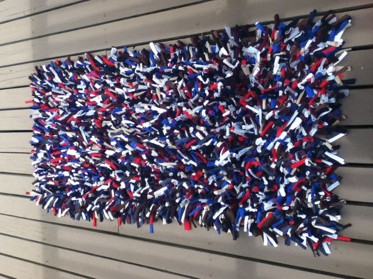 203 best images about recycled t shirt ideas on pinterest for How to make rugs out of old t shirts