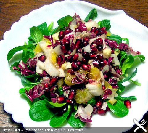 Wintersalat mit Chicoree und Radicchio, ein beliebtes Rezept aus der Kategorie Vegetarisch. Bewertungen: 29. Durchschnitt: Ø 4,3.
