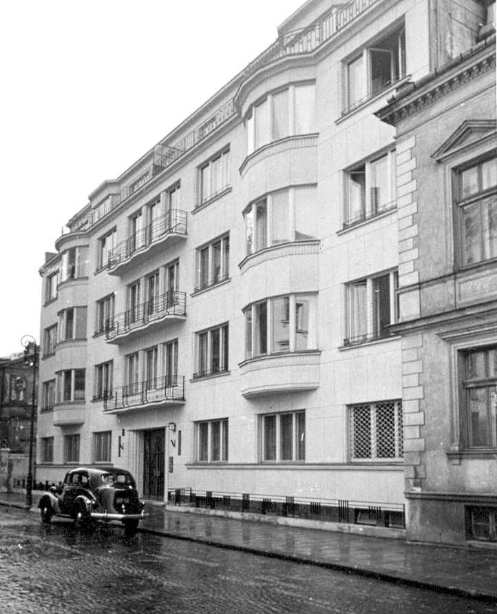 Kamienica nr 7 w Alei Róż (1938 r.).