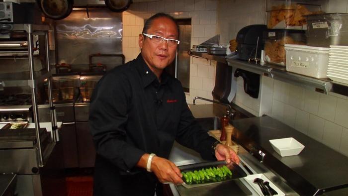 Iron Chef Masaharu Morimoto's Shishito Pepper 'Poppers'