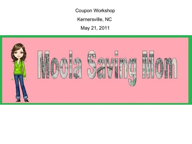 moola-saving-mom-presentation by Jessie Alonzo via Slideshare