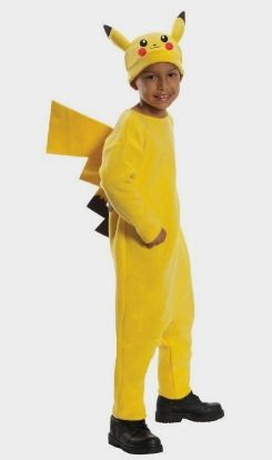 Pokemon Child's Deluxe Pikachu Costume - Amazon Kids http://amzn.to/2eg2q9q