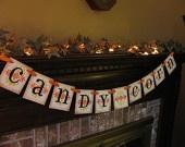 Candy CornHolidays Halloween, Candy Corn, Candies Corn, Corn Banners, Holiday Decor