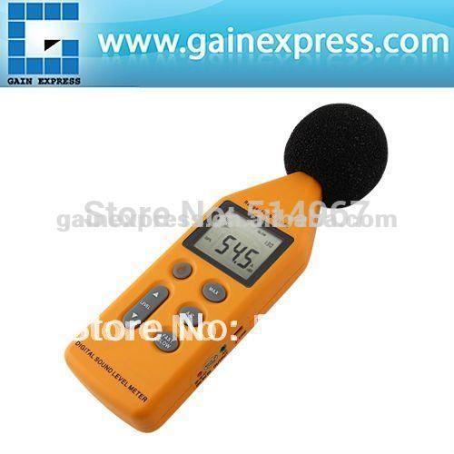 Цифровой 5-в-1 Профессиональная Звукового Давления Измеритель Уровня Шума 40 ~ 130dB Децибел Logger с ДОПОЛНИТЕЛЬНЫЙ CD с Программным Обеспечением и Usb-кабель