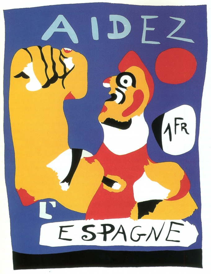 Help Spain!, 1937 by Joan Miró