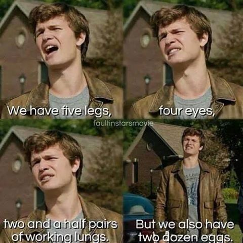 The Fault in our Stars Gwiazd Naszych Wina Augustus