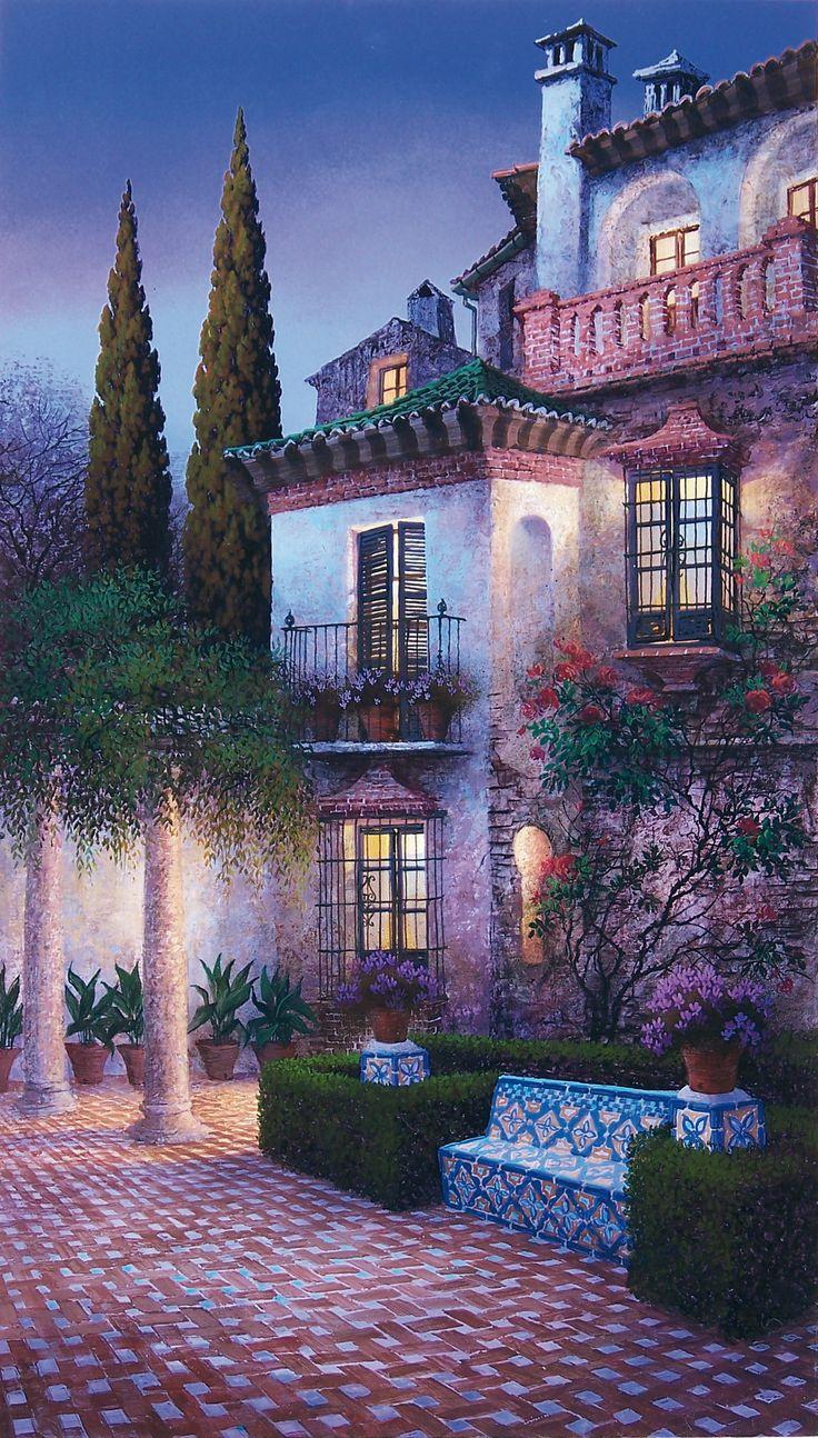 """""""Jardín en la Casa del Rey Moro"""" by Luis Romero"""