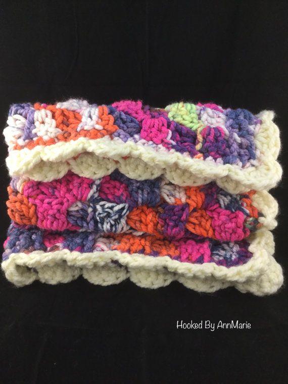 Crochet baby blanket baby girl blanket. Pattern Corner to Corner baby blanket by Kindras Crochet. by HookedbyAnnMarie