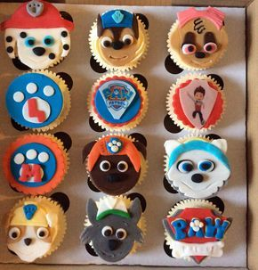 My Little Boy Loved These Paw Patrol Cupcakes I Made Cute For A