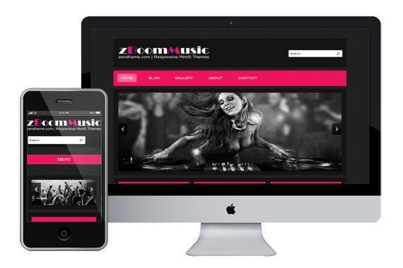 zBoomMusic–Free-Responsive-Html5-Theme