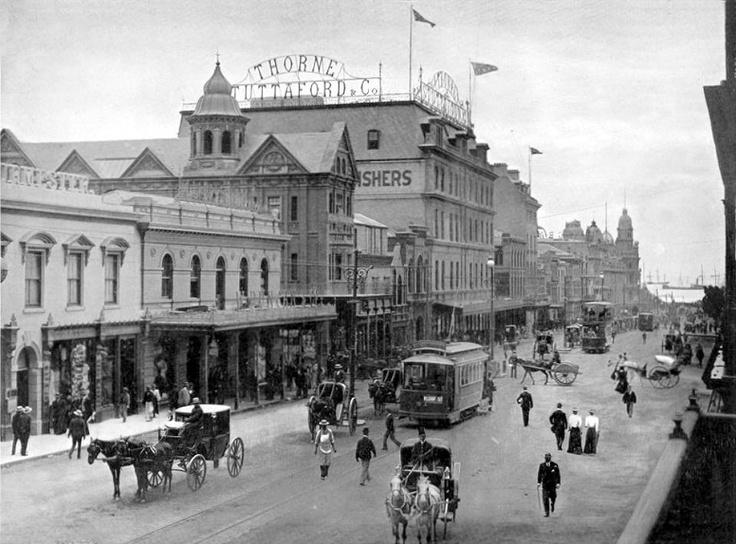 Vintage Cape Town - Adderley Street ~