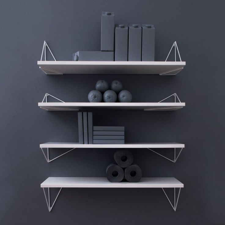Konsol Pythagoras vit 2-pack - Hyllor - Hall & förvaring - Produkter - Designtorget