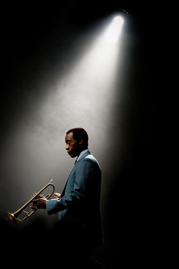 Don Cheadle as Miles Davis in the upcoming biopic 'Miles Ahead'.