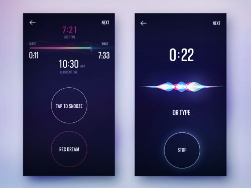 Snooze screen by Gleb Kuznetsov—The Best Mockups for Your...