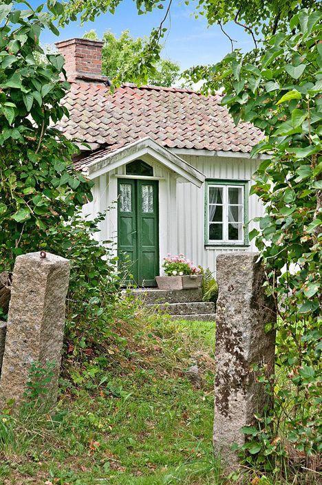 Doble grønne dører