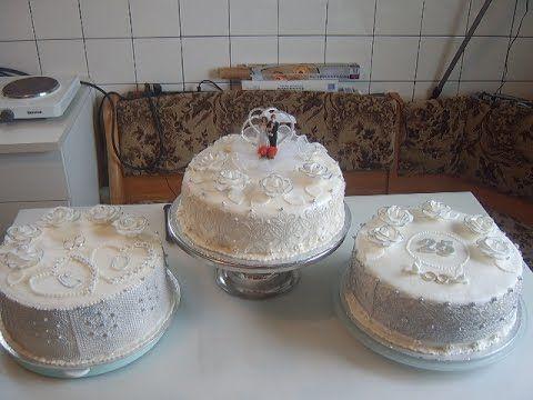 медовый бисквит и Свадебный торт . - YouTube