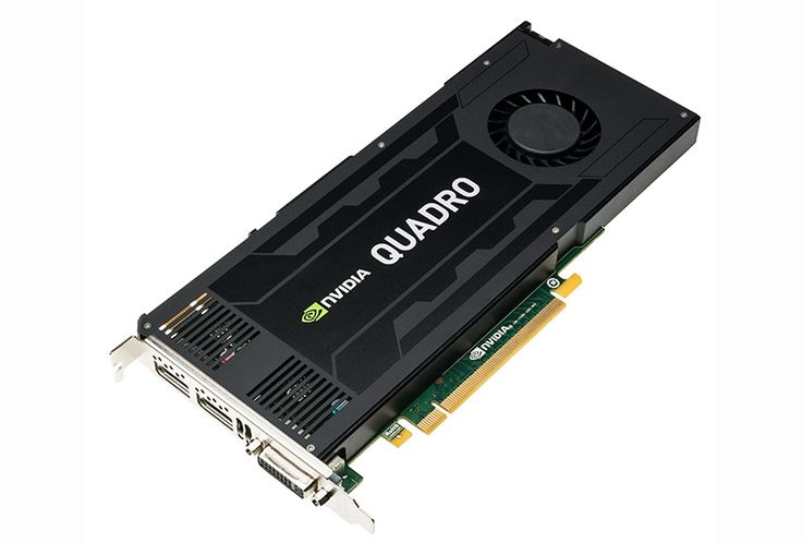 Leadtek nVidia Quadro K4200: PCIe X16 Workstation GPU, 4GB 256-Bit GDDR5, 384 CUDA Cores, 1x DVI-I, 2x DisplayPort 1.2, Port AdaptorsScalable geometry architecture, Hardware Tessellation, FXAA/TSAA Antialiasing, Bindless Textures, Shader Model 5.0 (OpenGL 4.4 and DirectX 11), Up to 16K x 16K Texture/RenderTransparent Multisampling/Supersampling, 16x Angle independent AF, 32-bit FP Texture filter/blend, Dedicated H.264 Encoder, Blu-ray Dual-stream hardware acceleration, Quadro Boost