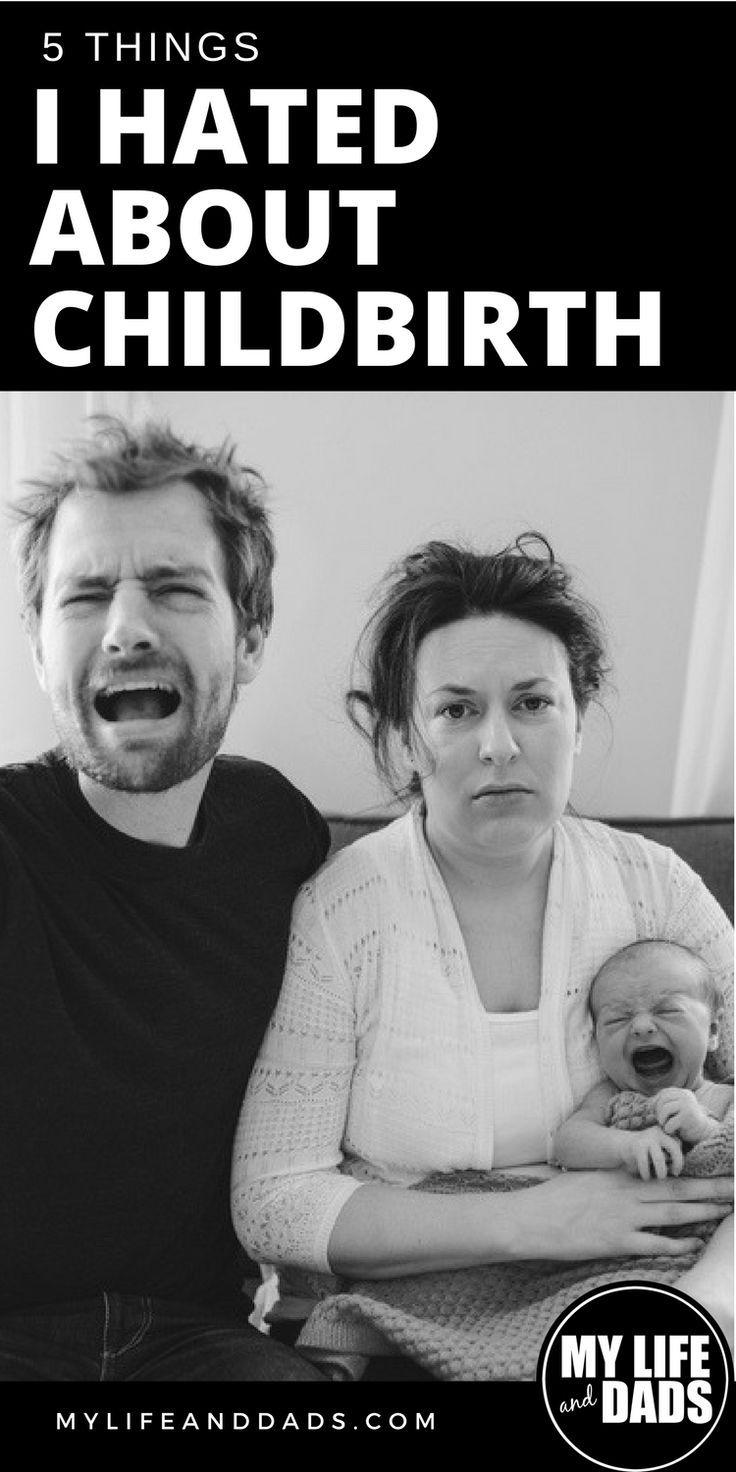 A man shares the things he hated most about childbirth. If you (or your wife) is expecting a child, you may want to read this first. Blergh. #parenthood #parenting #daddy #pregnancy #childbirth #newborn #mylifeanddads