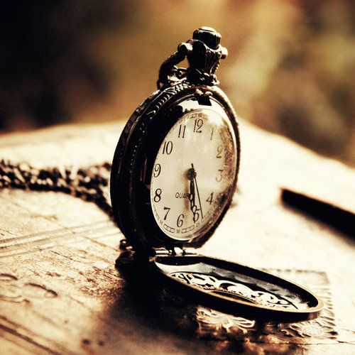 Clocks slay time... time is dead as long as it is being clicked off by little wheels; only when the clock stops does time come to life. William Faulkner