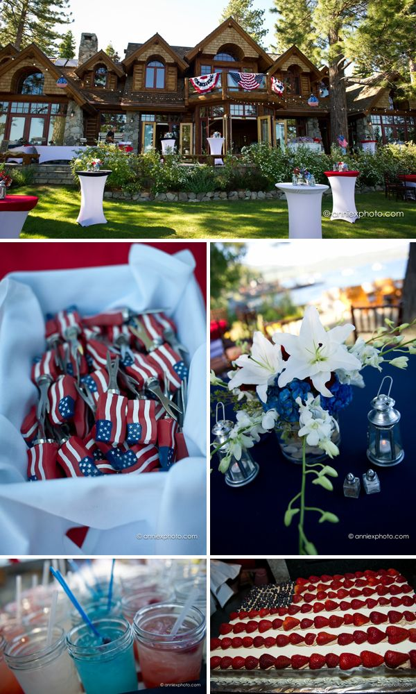 July 4th  Crux Events and D'lish Catering  Tahoe Luxury Properties