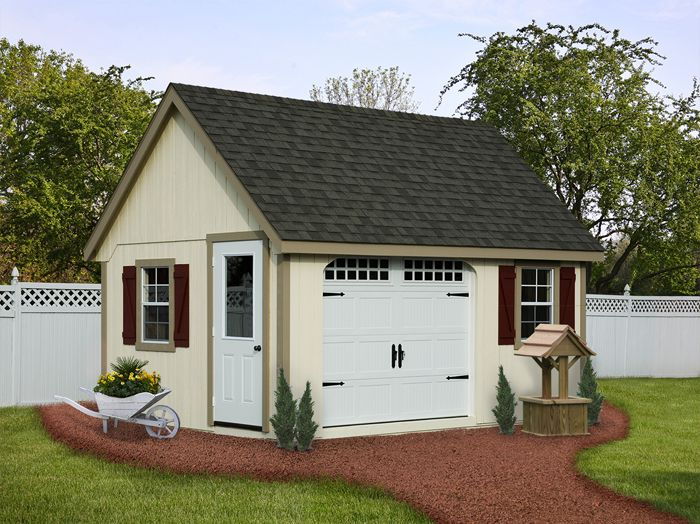 Cute Storage Shed! Would Be Easy To Get The Lawnmower In And Out OR Use