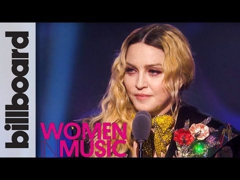 Madonna Woman of The Year Full Speech | Billboard Women in Music 2016 - YouTube