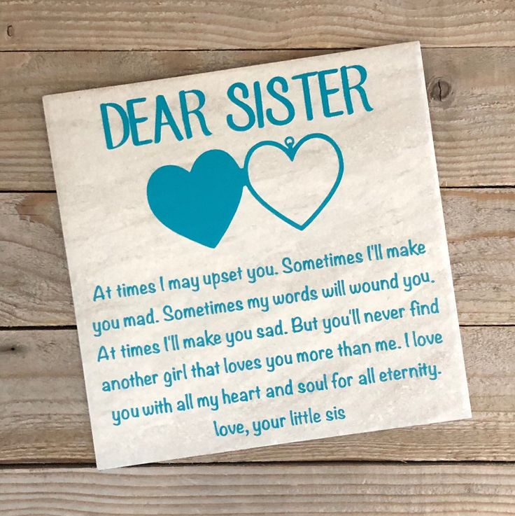 Gift for sister birthday day gifts christmas gifts etsy