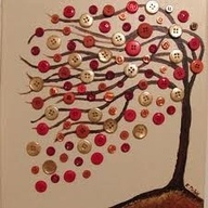Swaying Button Tree