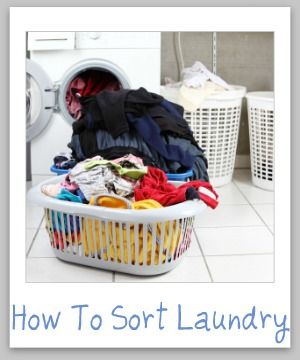 how to sort laundry tips to make the process fast but still effective stains laundry tips. Black Bedroom Furniture Sets. Home Design Ideas