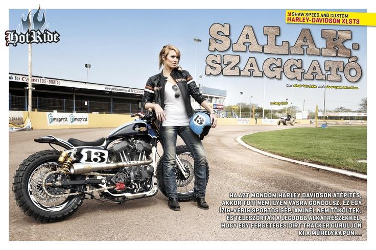 Shaw Speed n Custom Harley Tracker