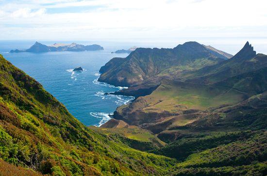 Chile's Robinson Crusoe (yes -- that Robinson Crusoe) island.  #travel