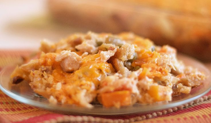 Holiday Leftovers Turkey Casserole | Let's Be Yummy