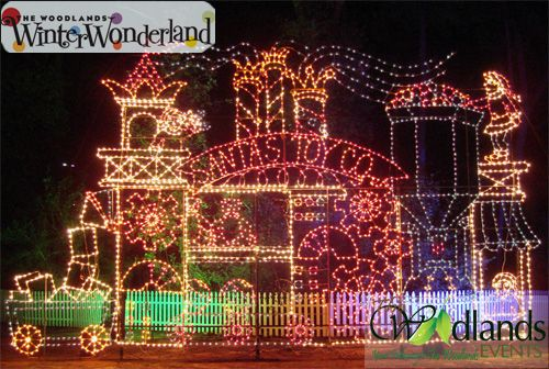 Christmas Lights In The Woodlands Tx