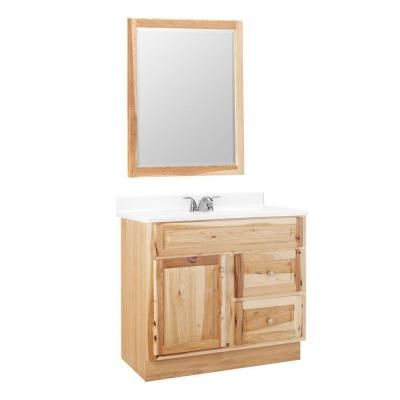 American Classics Hampton 36 In. W X 21 In. D Vanity Cabinet With Mirror
