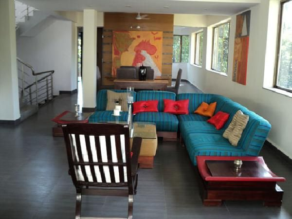 With four bedrooms, balcony and a  verandah including swimming pool with open pavillion. For more info contact: allproperty@devant.no #goa #india #villa #property #homes