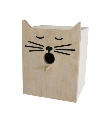 cat bird house