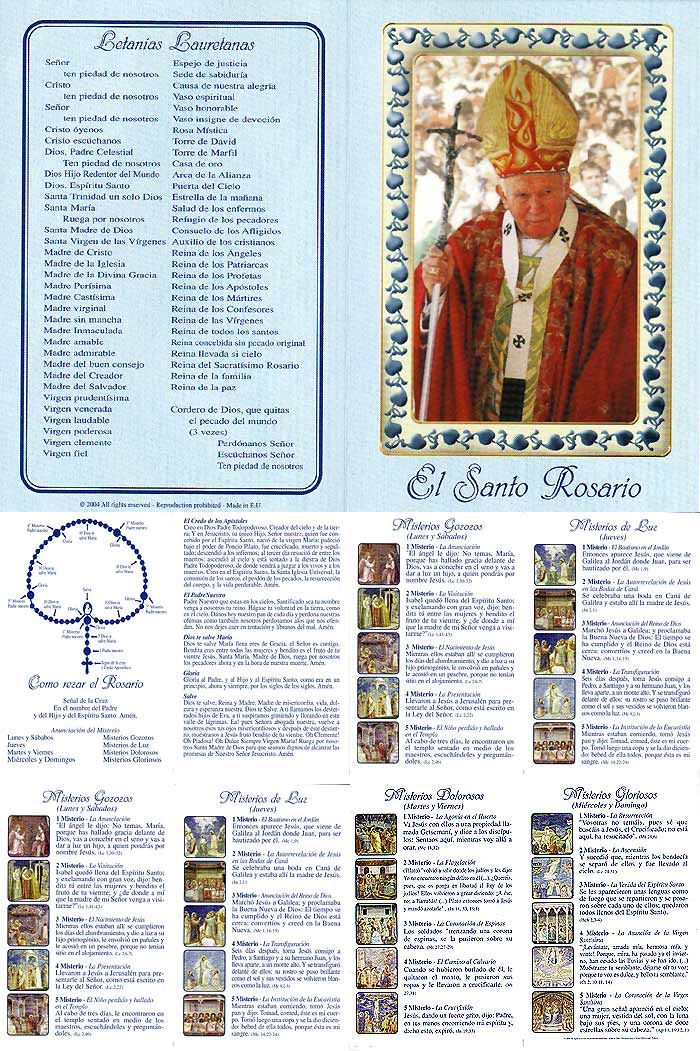 It is a graphic of Crush How to Pray the Rosary Printable Booklet