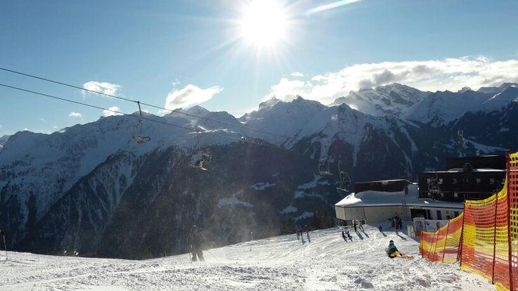 Februar 2016 Schruns, Montafon - Skiausfahrt DH