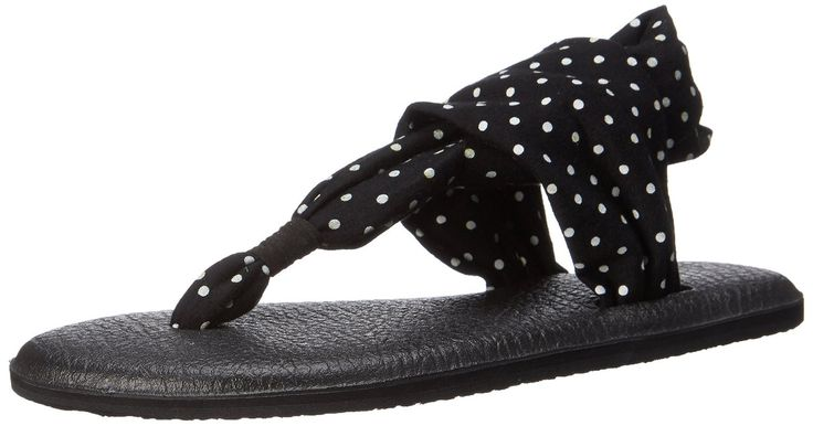 Sanuk Yoga Sling 2 Prints Flip Flop Thong Sandal Shoe - Womens