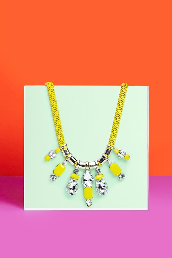 Sunburst Collar Necklace
