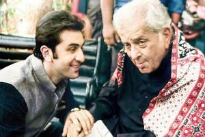 Prithviraj Kapoor's family is the first family, be it in cinema or theatre. The youngest superstar of the family, Ranbir Kapoor, visited the Prithvi festival on its inaugural day, trotting behind his parents like a little boy, much like he must have done many times in his childhood.