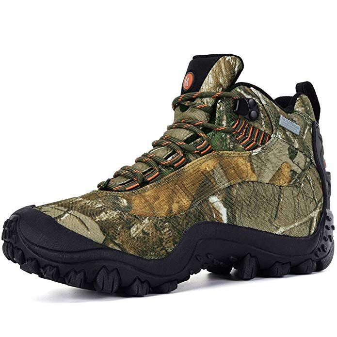 7eabdadcaf4 XPETI Men's Thermador Mid Waterproof Hiking Hunting Trail Outdoor ...