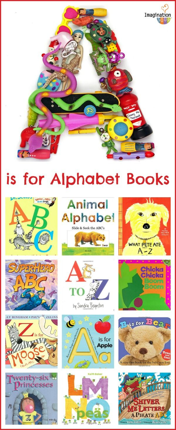 kids' favorite alphabet picture books -- a huge list!